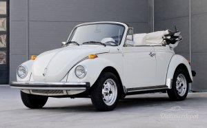 VW Käfer Cabrio weiß